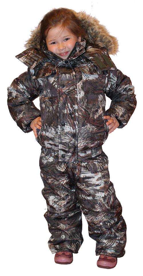 Детская одежда для зимней рыбалки
